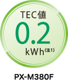TEC値0.2kWh(注1)