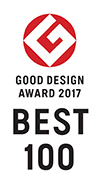GOOD DESIGN AWARD 2017 BEST 100
