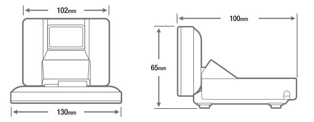 DM-D30寸法図