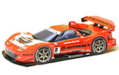 Papercraft recortable del Racing Car Arta NSX 2007. Manualidades a Raudales.