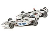 Maqueta 3D recortable de coches de la fórmula Nippon 2009.