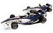 Maqueta coches de la Formula Nippon 2012.