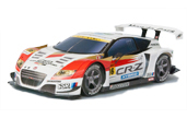 Papercraft recortable del Racing Car Mugen CR-Z Super GT 2012. Manualidades a Raudales.