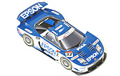 Papercraft racing car del coche EPSON NSX 2005. Manualidades a Raudales.