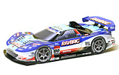 Papercraft recortable del Racing Car Raybrig 2007 NSX. Manualidades a Raudales.