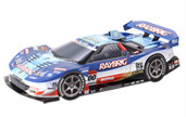 Papercraft recortable del Racing Car Raybrig NSX 2008. Manualidades a Raudales.