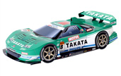 Papercraft recortable del Racing Car Takata NSX 2008. Manualidades a Raudales.