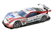 Papercraft recortable del Racing Car Weider Honda HSV-010 2010. Manualidades a Raudales.