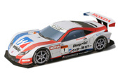 Papercraft recortable del Racing Car Weider Honda HSV-010 2011. Manualidades a Raudales.